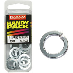 Champion Spring Washers - 10mm, BH338, Handy Pack, , scaau_hi-res