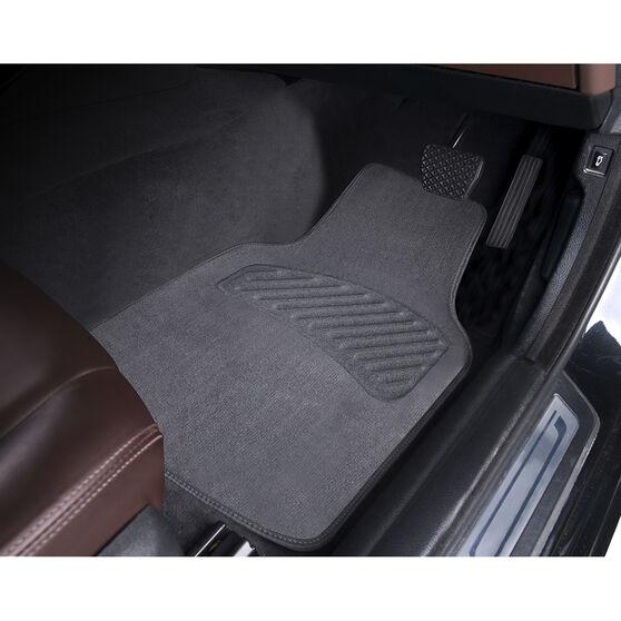 SCA Luxury Carpet Floor Mats Charcoal Set of 4, , scaau_hi-res