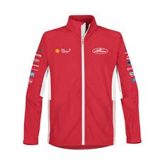 Shell V-Power Racing Team Men's 2020 Track Jacket Red XS, Red, scaau_hi-res