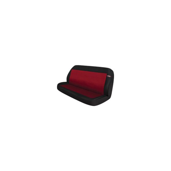 Cord Seat Covers - Red, Size 06, Rear Seat (no headrests), , scaau_hi-res