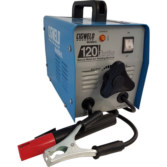 Cigweld ARC Welder - 120 Amp, 240V, Turbo