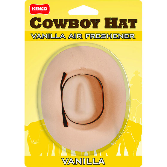 Kenco Air Freshener, Cowboy Hat, , scaau_hi-res