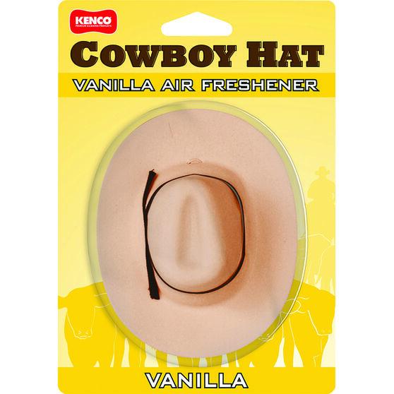Kenco Cowboy Hat Air Freshener - Vanilla, , scaau_hi-res