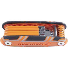 Kincrome Folding Tamperproof TORX Key Set 10 Piece, , scaau_hi-res