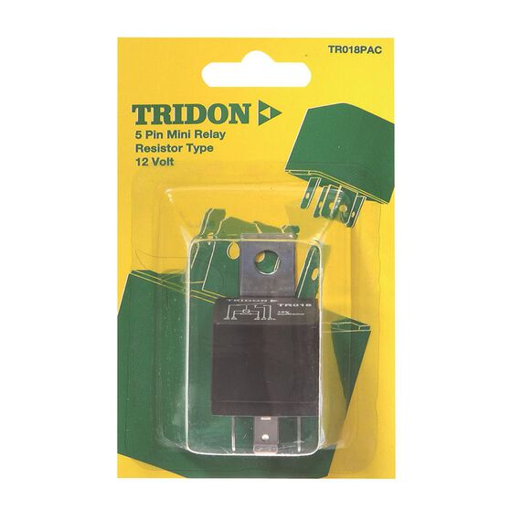 Tridon Mini Relay - 40 AMP, 5 Pin, , scaau_hi-res