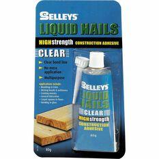 Liquid Nails - Clear, 80g, , scaau_hi-res