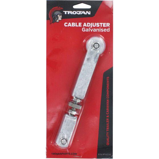 Trojan Brake Cable Adjuster - Galvanised, , scaau_hi-res