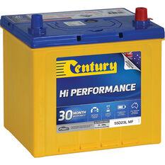 Century Hi Performance Car Battery 55D23L MF, , scaau_hi-res