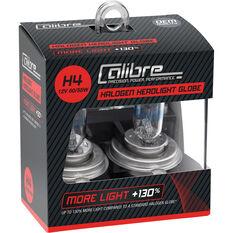 Calibre Headlight Bulb 12V H4 60/55W Plus 130, , scaau_hi-res