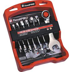 ToolPRO Spanner Set - Stubby, 7 Piece, Imperial, , scaau_hi-res