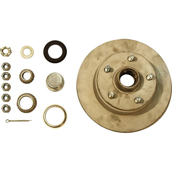 Trojan Marine Trailer Hub Kit - Ford, 255mm, , scaau_hi-res