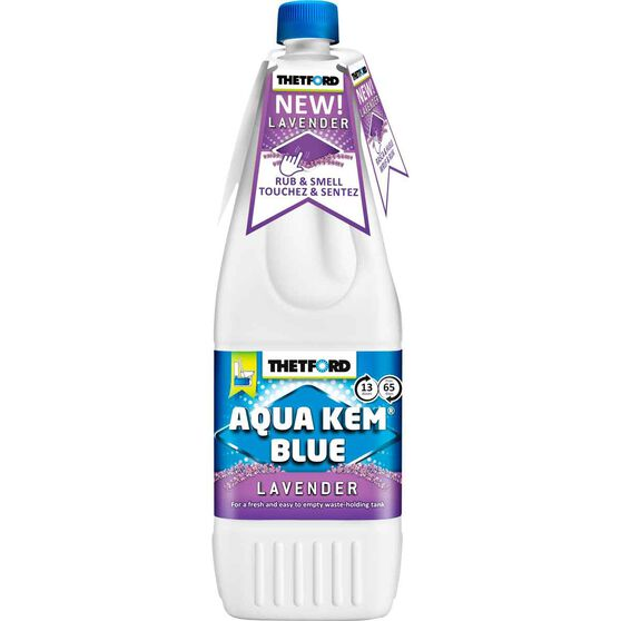 Thetford Aqua Kem Blue Toilet Additive Lavender 1 Litre, , scaau_hi-res