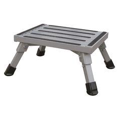 Folding Step - Aluminium, 250kg, , scaau_hi-res