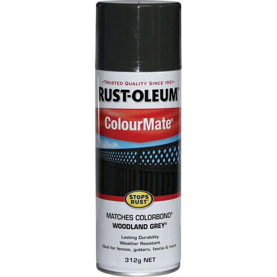 Rust-Oleum Aerosol Paint - Colourmate, Woodland Grey 312g, , scaau_hi-res