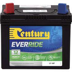 Century Mower Battery - EverRide U1MF, , scaau_hi-res