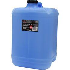 Water Carry Can - 25 Litre, Cube, Blue, , scaau_hi-res