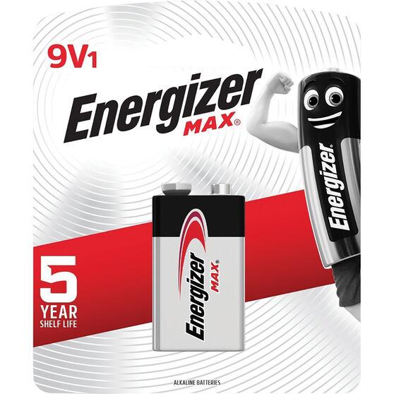 Energizer Max Battery - 9V, , scaau_hi-res