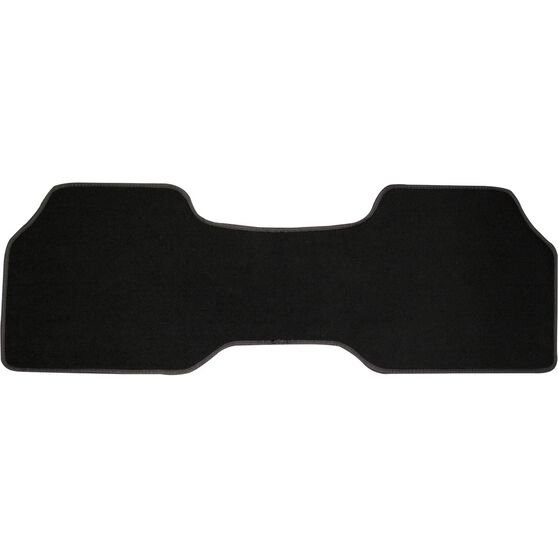 SCA Car Floor Mat - Carpet, Black, Single Rear, , scaau_hi-res