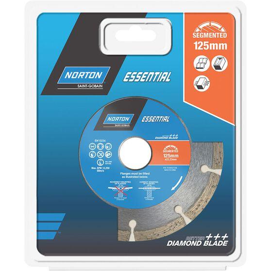 Norton Diamond Blade - Segmented, 125mm, , scaau_hi-res