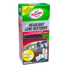Turtle Wax Headlight Restorer Kit, , scaau_hi-res
