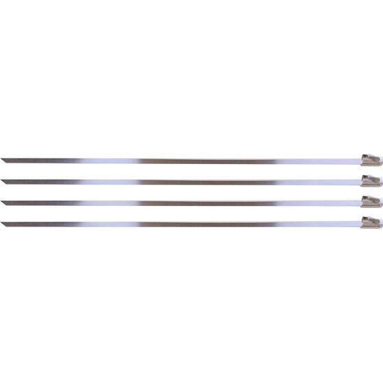 Locking Ties Stainless Steel 8 Set 4, , scaau_hi-res