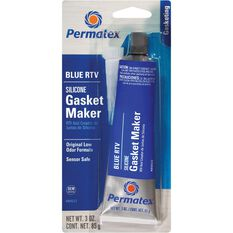 Permatex RTV Silicone Gasket Maker - Blue, 85g, , scaau_hi-res