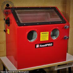 ToolPRO Sand Blasting Cabinet 100 Litre, , scaau_hi-res