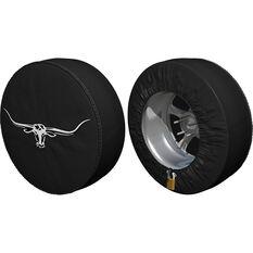 R.M.Williams 4WD Spare Wheel Cover - Black, , scaau_hi-res
