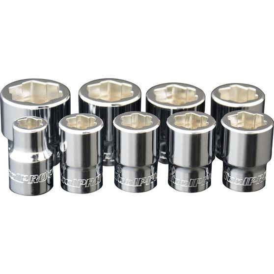 ToolPRO Bolt Extractor Socket Set 9 Piece, , scaau_hi-res