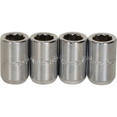 Calibre Wheel Nuts, Tapered Slim, Chrome - SLIMN12150, 12mm x 1.50mm, , scaau_hi-res