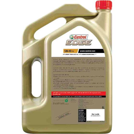 castrol edge engine oil 5w 40 sn 6 litre supercheap auto. Black Bedroom Furniture Sets. Home Design Ideas