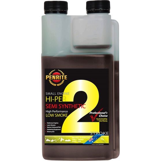 Penrite Small Engine Hi-Per 2 Stroke Engine Oil 1 Litre, , scaau_hi-res