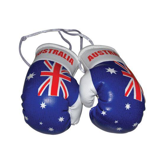Aussie Flag Boxing Gloves - Blue, , scaau_hi-res