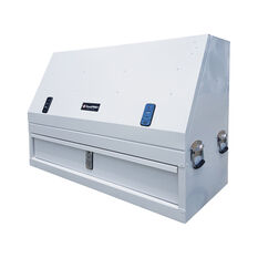 ToolPRO Truck Box - White, With Drawer, , scaau_hi-res