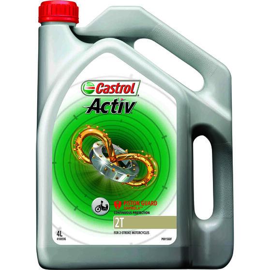 Castrol Activ 2T Motorcycle Oil - 4 Litre, , scaau_hi-res
