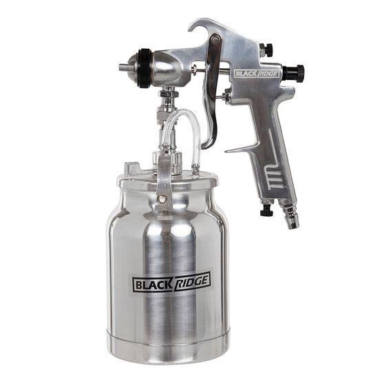 Blackridge High Pressure Air Spray Gun, Heavy Duty - 1000mL, , scaau_hi-res
