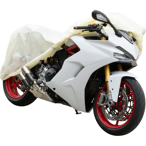 SCA Motorcycle Cover - Suits Small Motorcycles, , scaau_hi-res