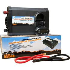 Ridge Ryder Pure Sine Wave Inverter 1000W, , scaau_hi-res