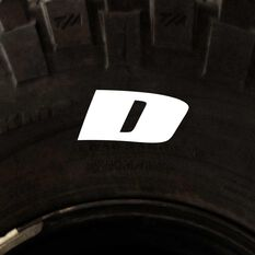 Tire Stickers - Letter D, , scaau_hi-res