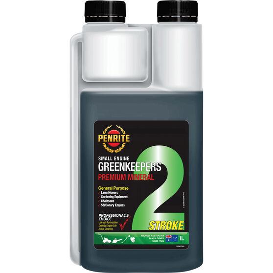 Penrite Greenkeepers 2 Stroke Lawnmower Oil - 1 Litre, , scaau_hi-res