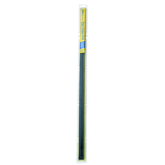 Tridon Wiper Refills - Metal Rail Wide Back, Suits 8.5mm, 2 Pack, , scaau_hi-res