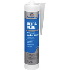 Permatex RTV Silicone Gasket Maker, Multi-Purpose - Ultra Blue, 300mL, , scaau_hi-res