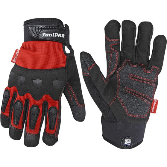 ToolPRO Work Gloves - Light Weight, Large, , scaau_hi-res