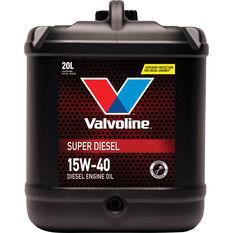 Valvoline Super Diesel Engine Oil 15W-40 20 Litre, , scaau_hi-res