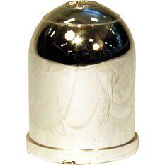 Trojan Tow Ball Cover - Chrome, 50mm, , scaau_hi-res