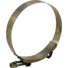 Hose Clamp - Stainless Steel, 89mm, , scaau_hi-res