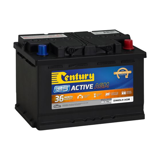 Century ISS Active Stop/Start Car Battery DIN65LH AGM MF, , scaau_hi-res