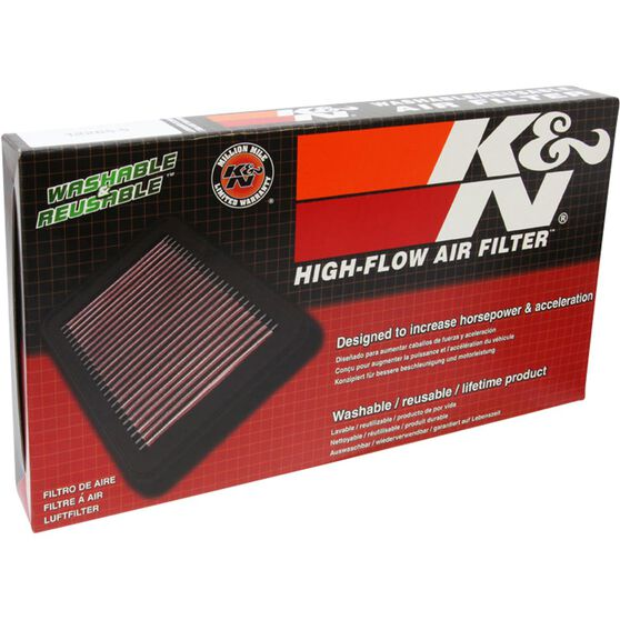 K&N Air Filter 33-2980 (Interchangeable with A1758), , scaau_hi-res