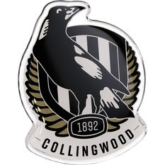 Collingwood AFL Supporter Logo - Lensed Chrome Finish, , scaau_hi-res