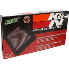 K&N Air Filter - 33-2451 (Interchangeable with A1727), , scaau_hi-res